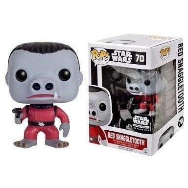 Funko Pop! - Star Wars POP! Vinyl Bobble-Head Red Snaggletooth Limited