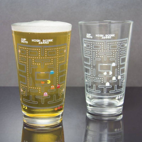 Glassware & Drinkware - Pac-Man Cold Change Glass