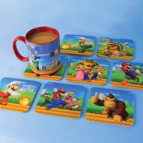 Glassware & Drinkware - Super Mario 3D Coasters