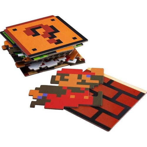 Glassware & Drinkware - Super Mario Coasters