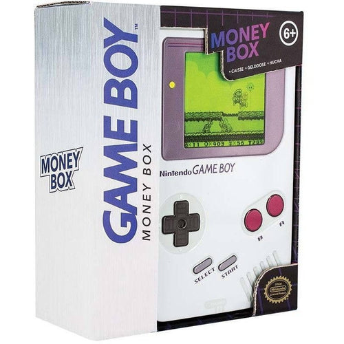 Money Boxes - Game Boy Tin Money Box