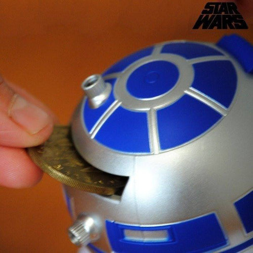 Money Boxes - Star Wars R2D2 Money Box With Sound