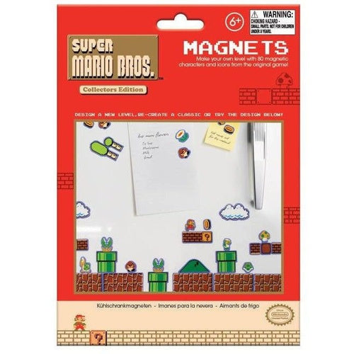 Pins & Magnets - Super Mario Magnets