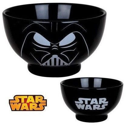 Plates & Bowls - Star Wars Darth Vader Cereal Bowl
