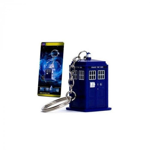 Wallets & Keychains - Doctor Who Tardis LED Keyring