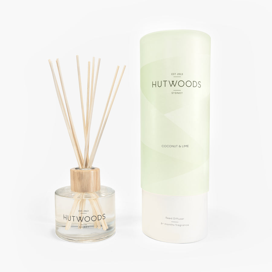 Hutwoods Coconut & Lime Reed Diffuser