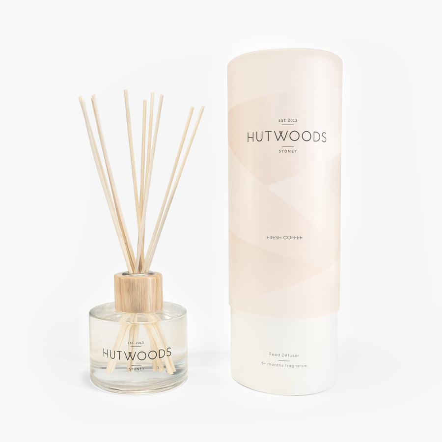 Hutwoods Fresh Coffee Reed Diffuser