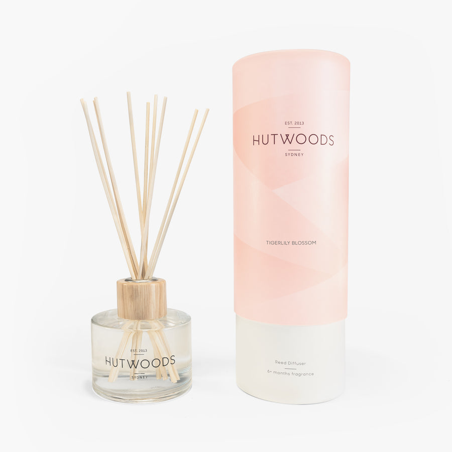 Hutwoods Tigerlily Blossom Reed Diffuser