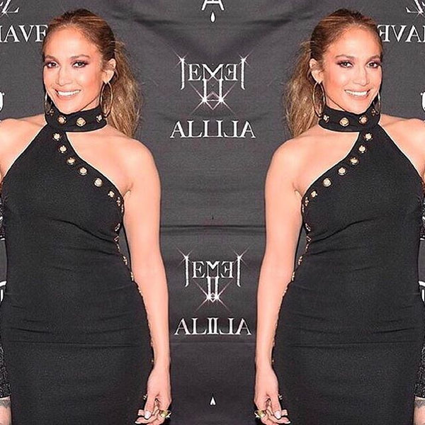 Celebrity megastar and style queen Jennifer Lopez in Georgy Collection!