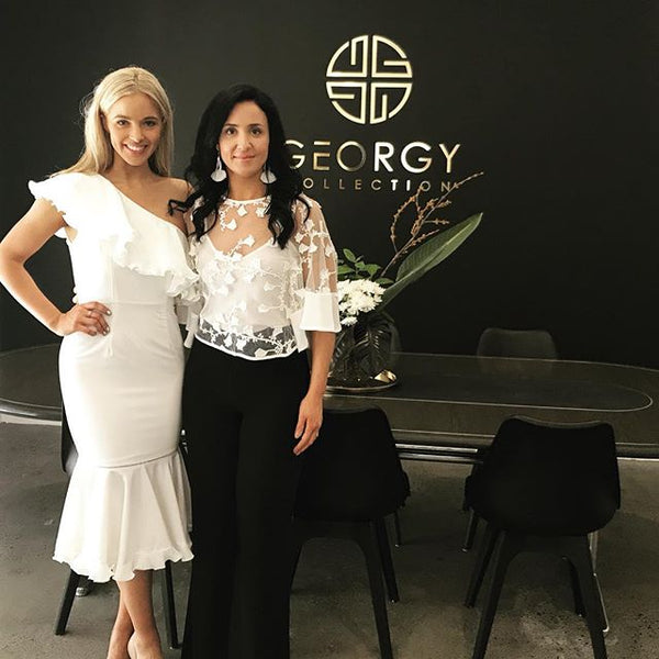 Miss Universe Australia pops in for a visit at GC HQ