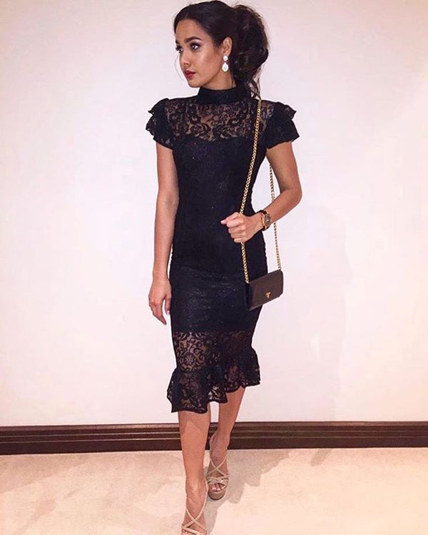 Tahan Lew Slays in the Georgy Collection Selene dress