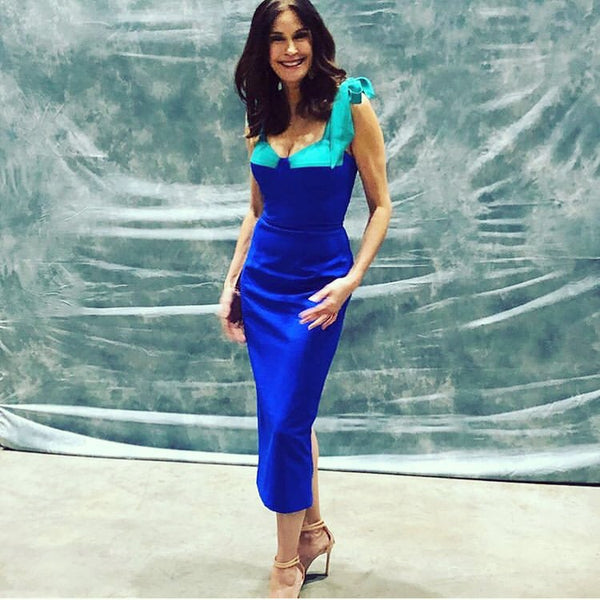 Teri Hatcher in the Iconic Chantelle dress