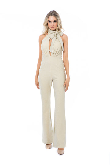 HERA PANTSUIT - GOLD - GEORGY COLLECTION