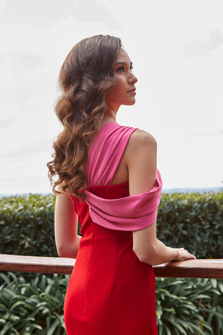 ANGELICA - RED & PINK - GEORGY COLLECTION