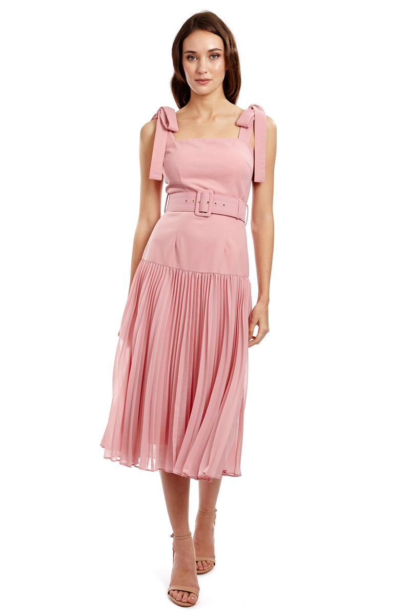 ADELE DRESS - PINK - GEORGY COLLECTION