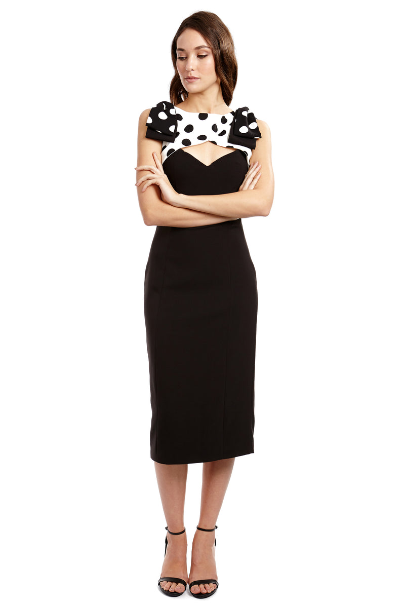 AUDREY DRESS - POLKA - GEORGY COLLECTION