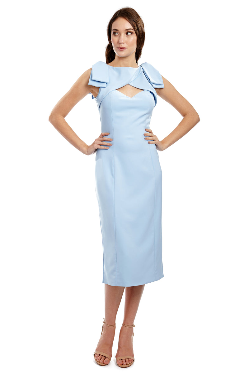 AUDREY DRESS - BLUE - GEORGY COLLECTION