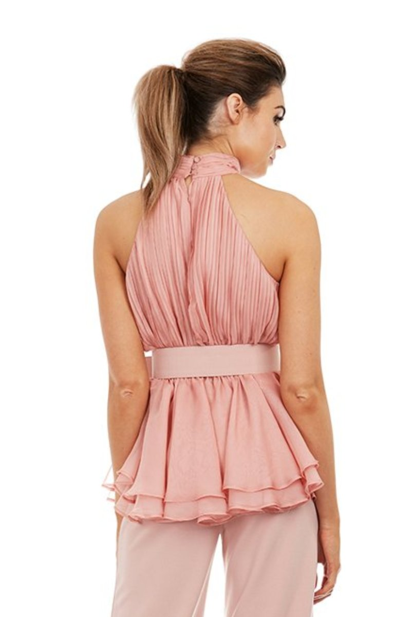 AVA TOP - PINK - GEORGY COLLECTION