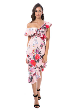 ALESSANDRA - PINK FLORAL - GEORGY COLLECTION