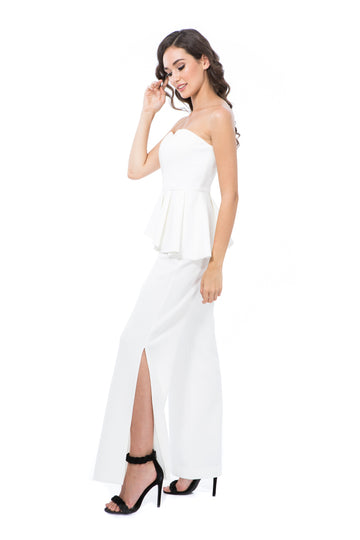 ANASTACIA PANTS - WHITE - GEORGY COLLECTION