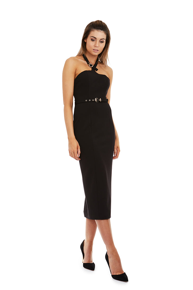 ATHENA DRESS - BLACK - GEORGY COLLECTION