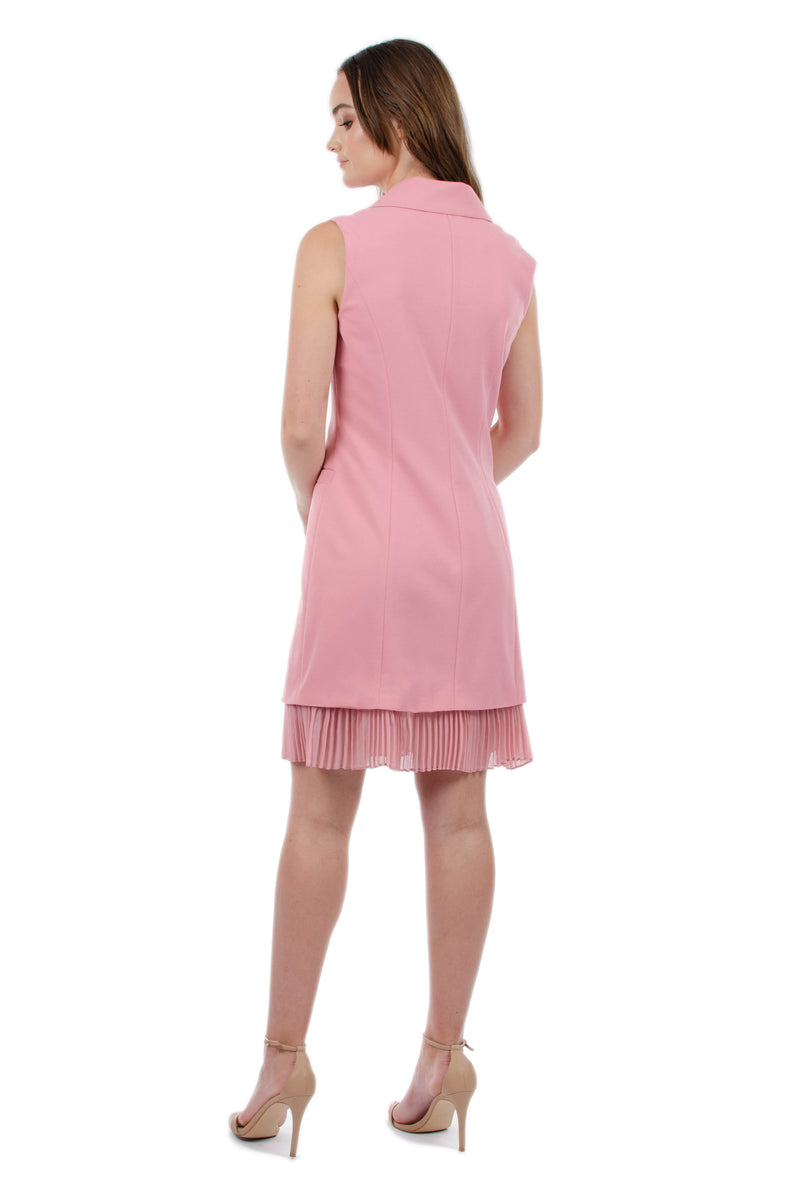 BELLA DRESS - PINK - GEORGY COLLECTION