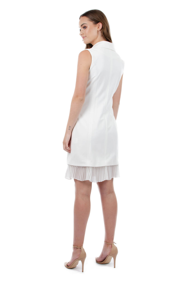 BELLA DRESS - WHITE - GEORGY COLLECTION