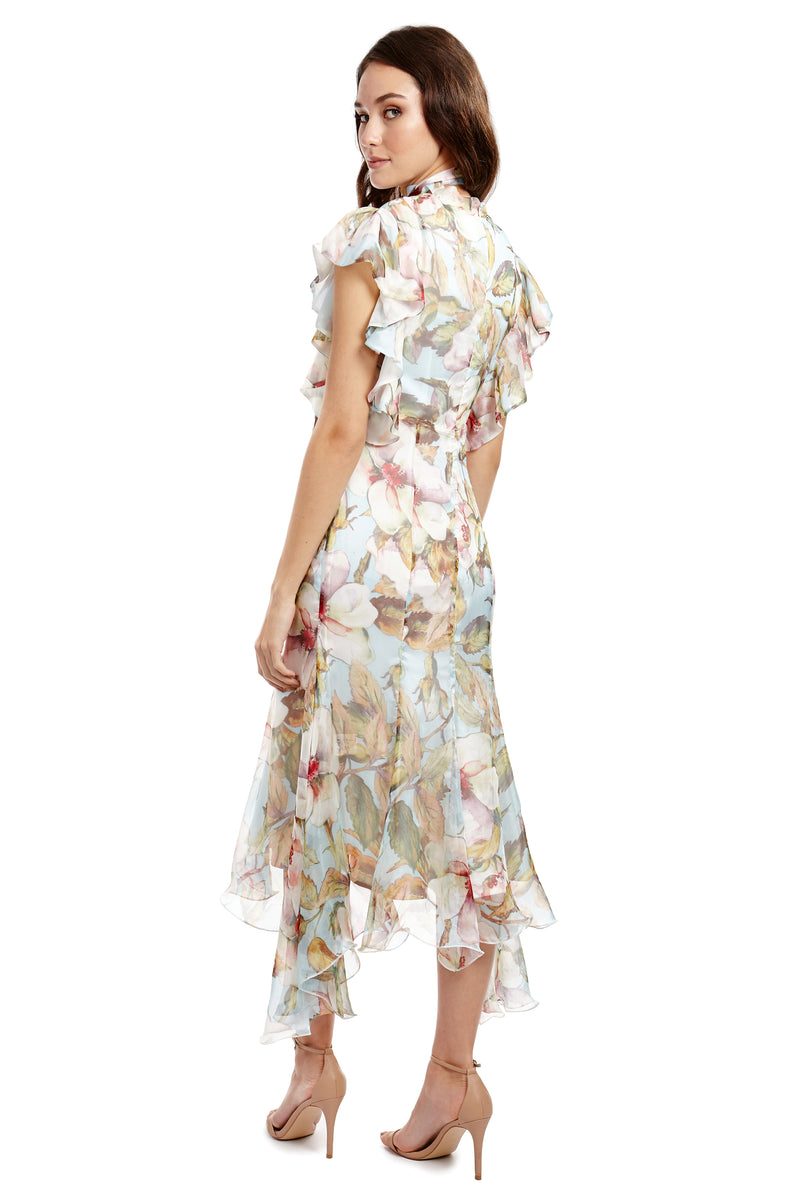 CHARLOTTE DRESS - FLORAL - GEORGY COLLECTION