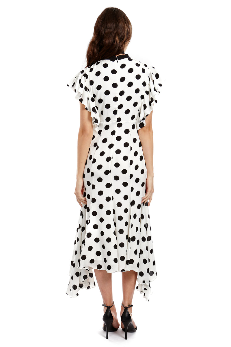 CHARLOTTE DRESS - POLKA - GEORGY COLLECTION