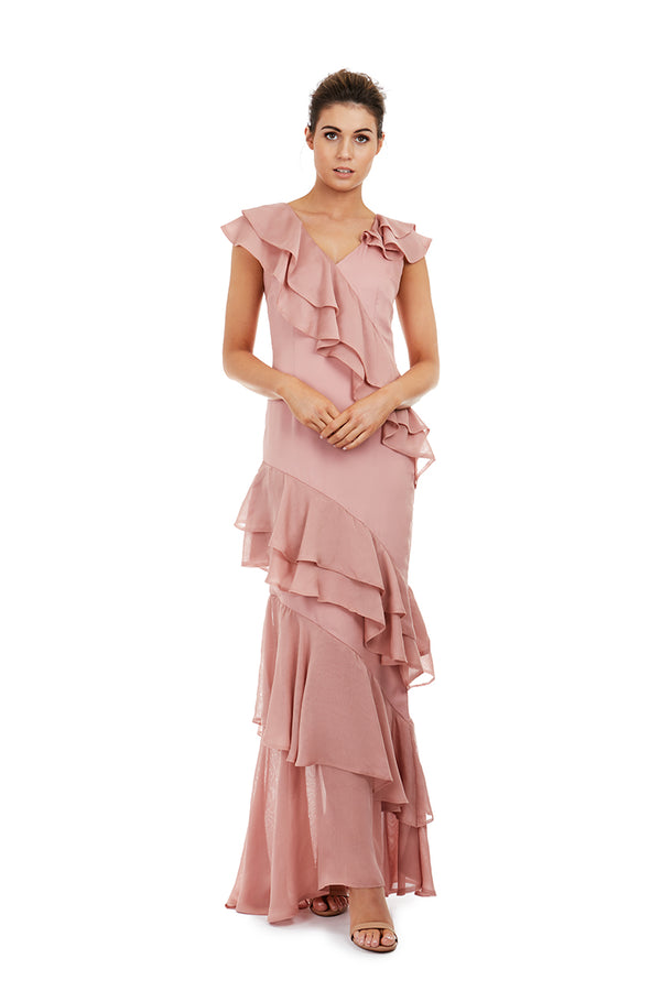 CLARA GOWN - PINK - GEORGY COLLECTION