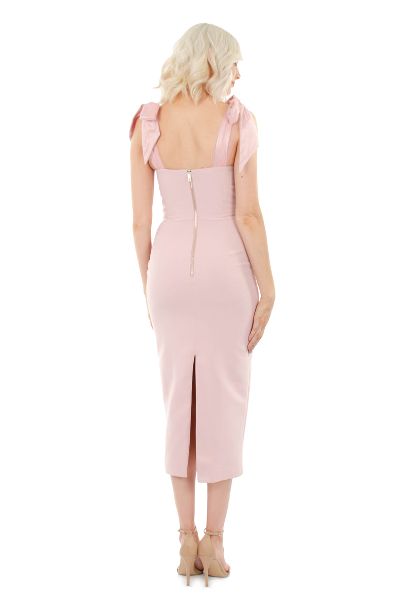 CHANTELLE LUXE DRESS - PINK - GEORGY COLLECTION