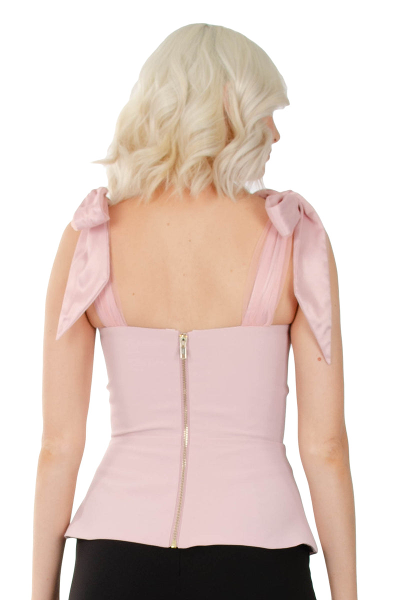 CHANTELLE LUXE TOP - PINK - GEORGY COLLECTION