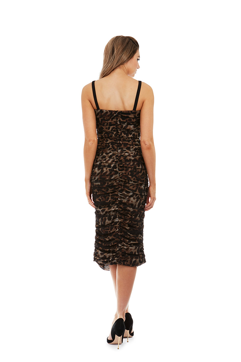 CIARA DRESS - LEOPARD - GEORGY COLLECTION