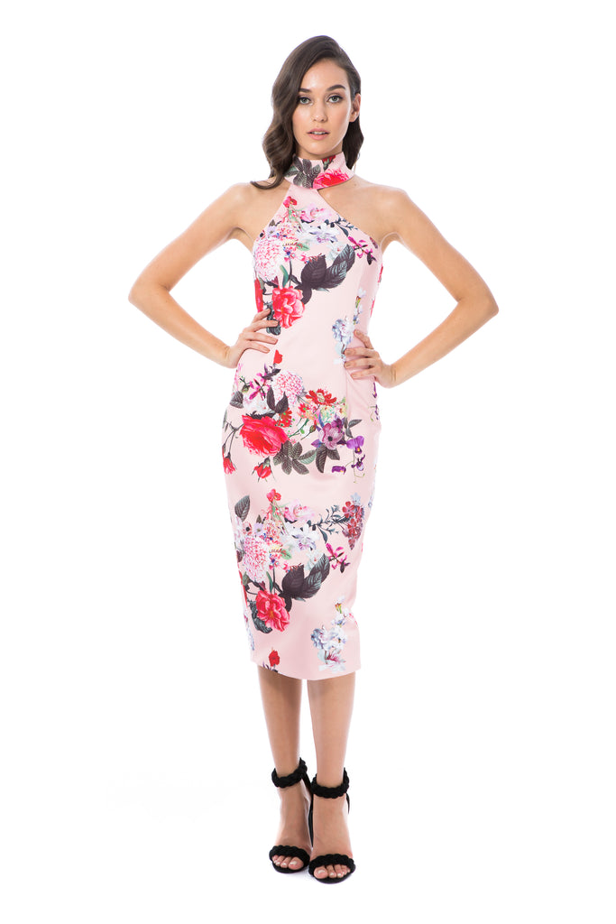 CLAUDIA - PINK FLORAL - GEORGY COLLECTION