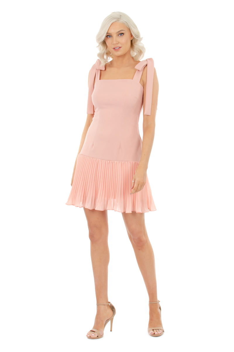 DAHLIA DRESS - PINK - GEORGY COLLECTION