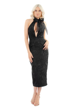 EMMA DRESS - BLACK - GEORGY COLLECTION