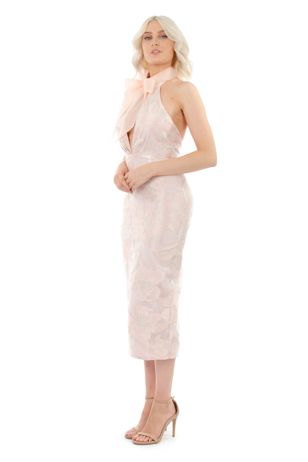 EMMA DRESS - PINK - GEORGY COLLECTION