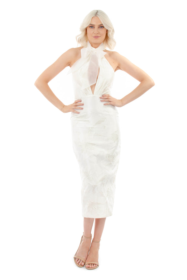 EMMA DRESS - WHITE - GEORGY COLLECTION