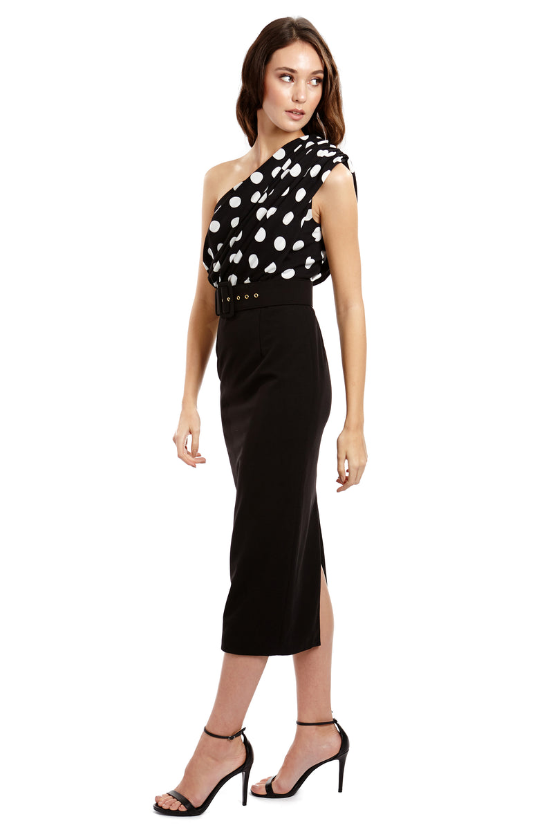 EVELYN DRESS - POLKA - GEORGY COLLECTION