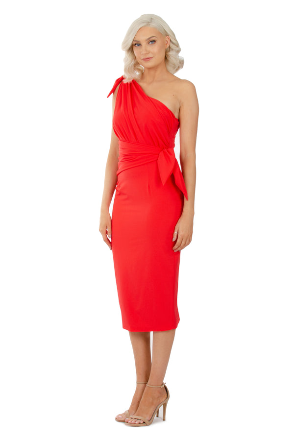 EVE DRESS - RED - GEORGY COLLECTION