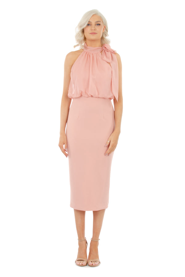 GEMMA DRESS - PINK - GEORGY COLLECTION