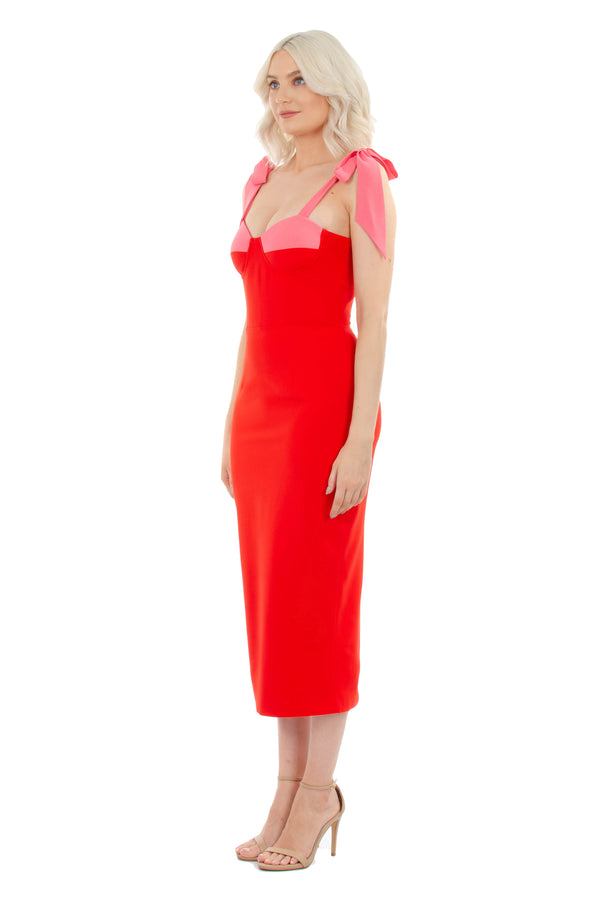 CHANTELLE - RED & PINK - GEORGY COLLECTION
