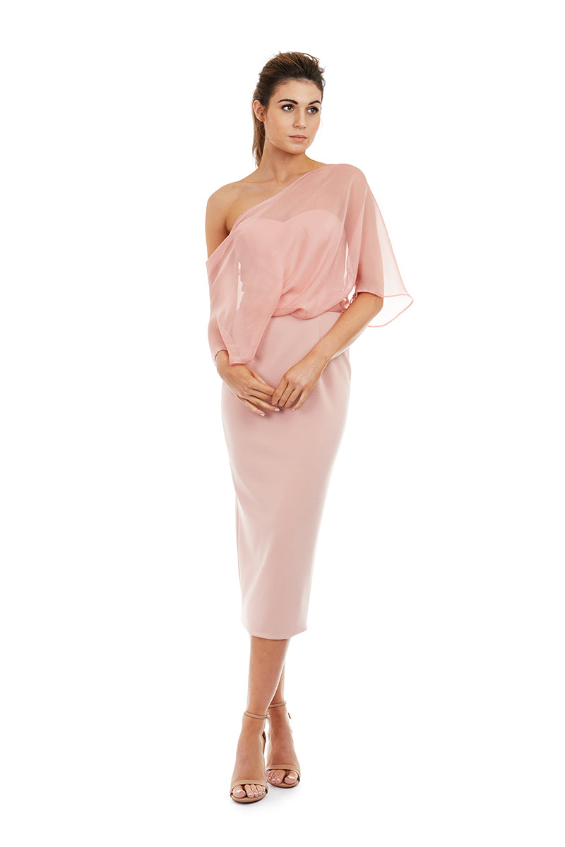 HOPE DRESS - PINK - GEORGY COLLECTION