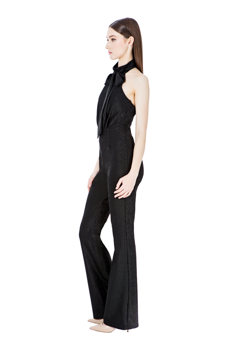 HERA PANTSUIT - BLACK - GEORGY COLLECTION