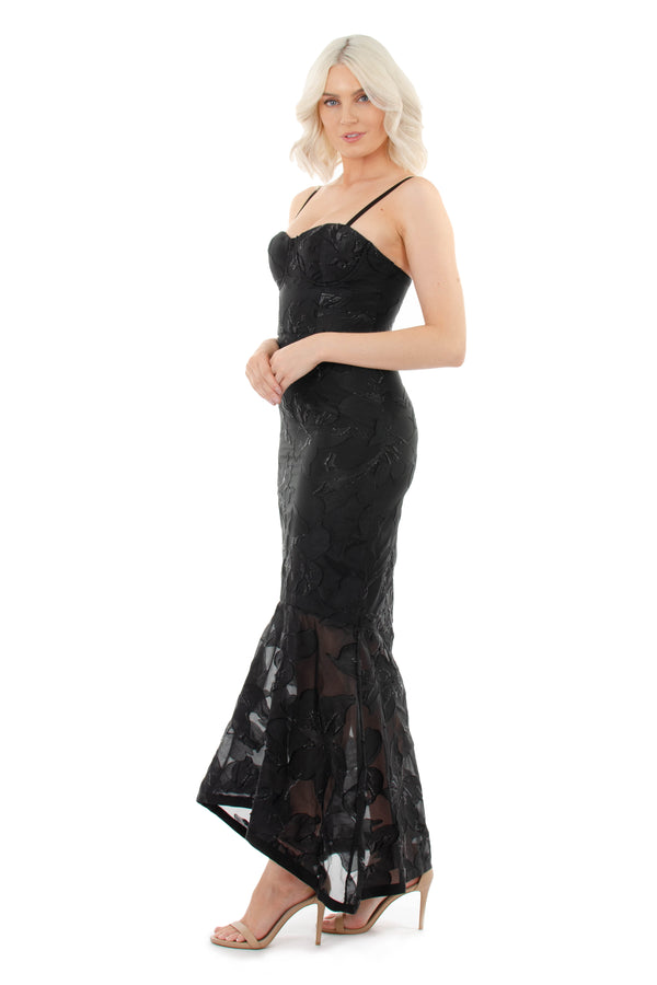ISLA GOWN - BLACK - GEORGY COLLECTION