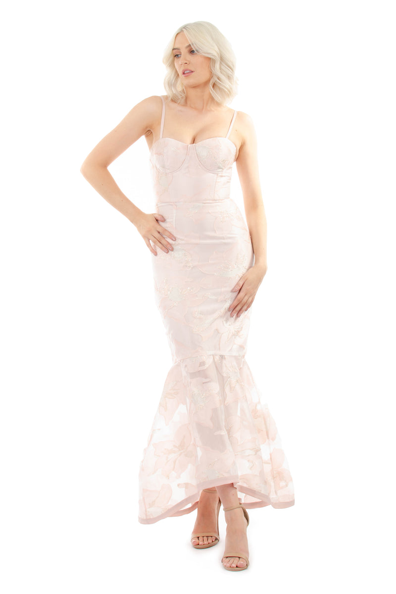 ISLA GOWN - PINK - GEORGY COLLECTION
