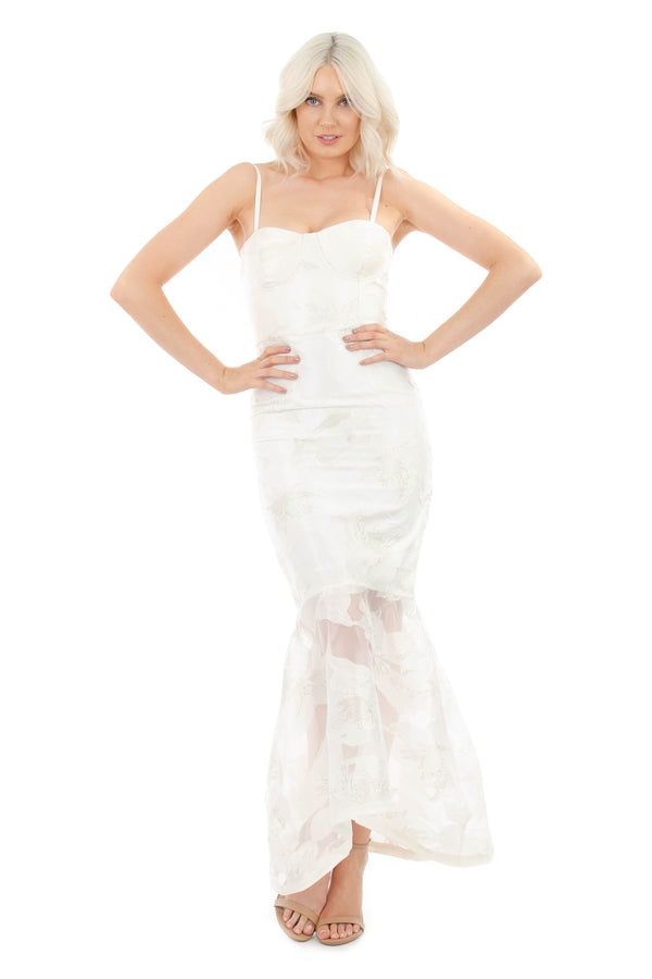 ISLA GOWN - WHITE - GEORGY COLLECTION
