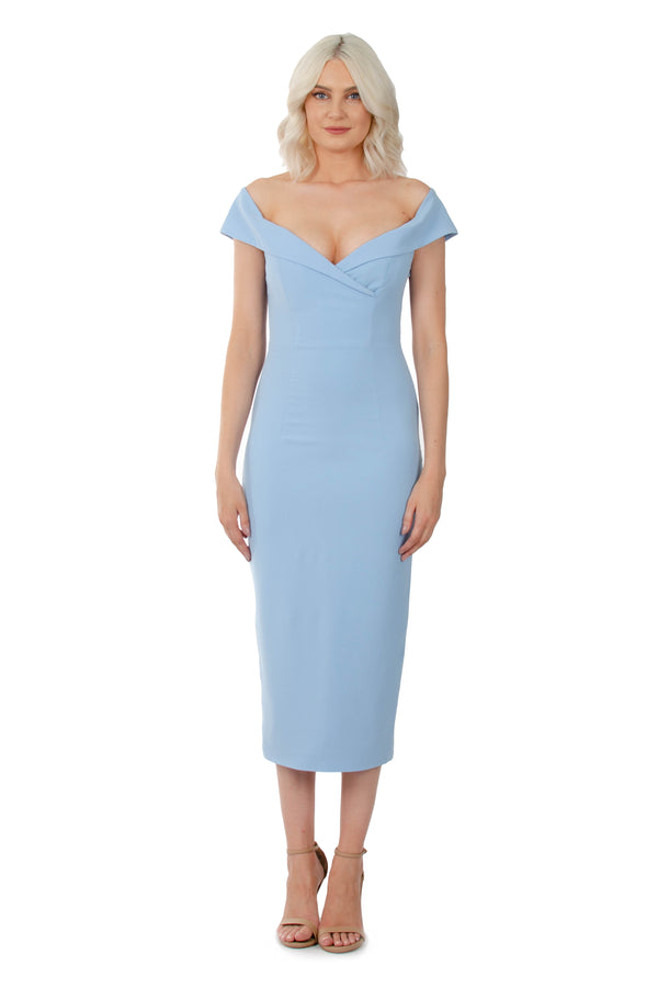 JASMINE DRESS - BLUE - GEORGY COLLECTION