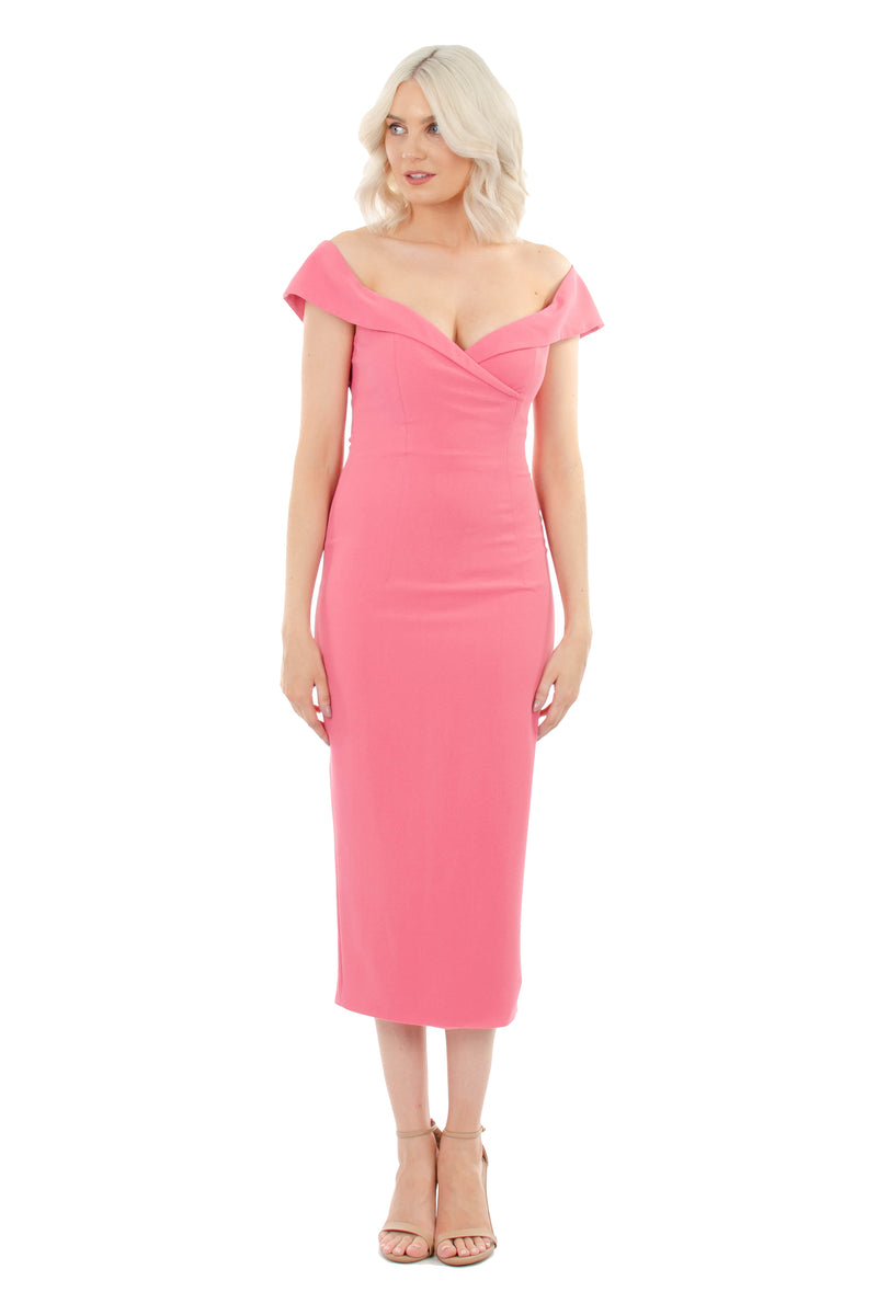JASMINE DRESS - PINK - GEORGY COLLECTION