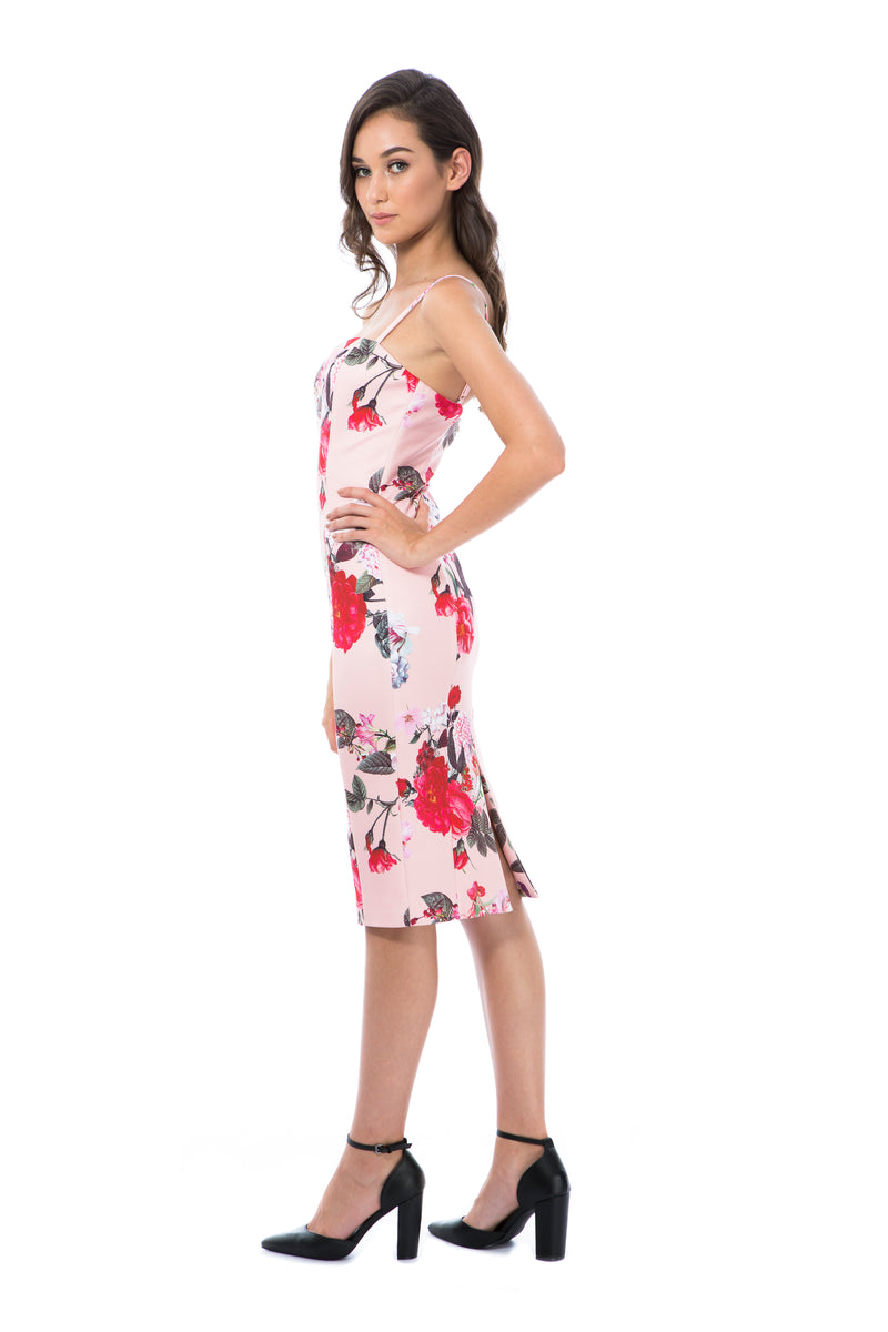 LILLY - PINK FLORAL - GEORGY COLLECTION